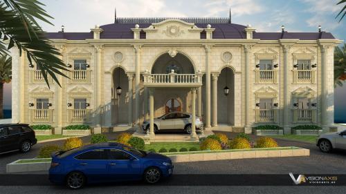 التصميم الخارجي السكني